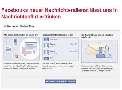 basic thinking über facebooks nachrichtendienst
